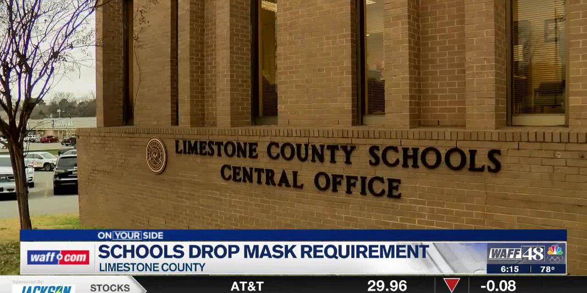 Why Limestone County Schools decided to no longer require masks