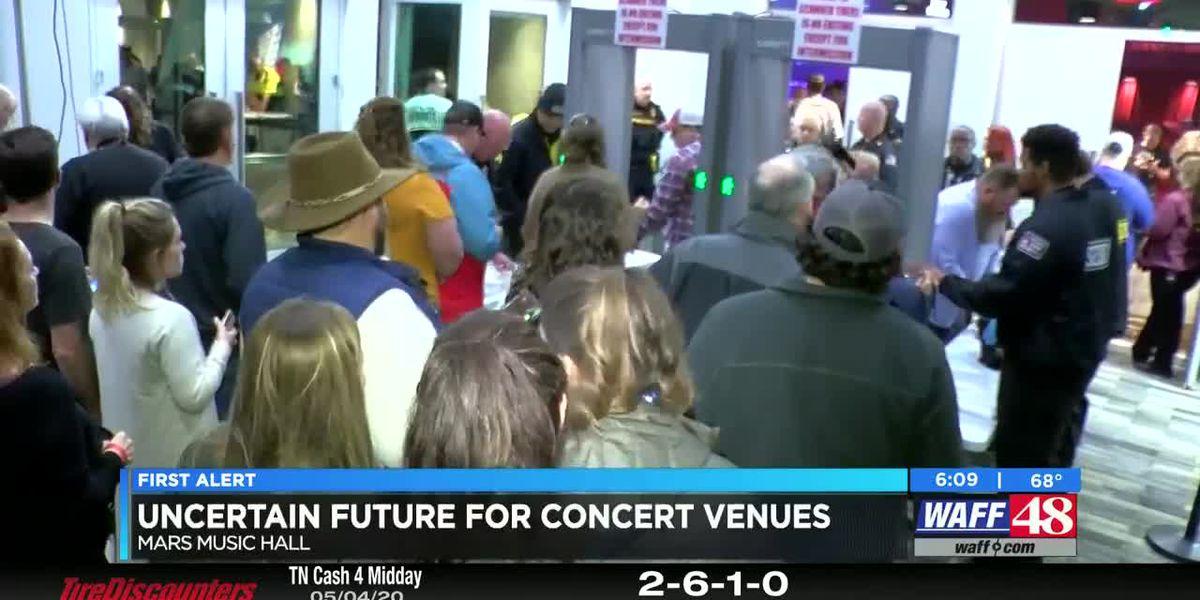 New Mars Music Hall in limbo during coronavirus pandemic