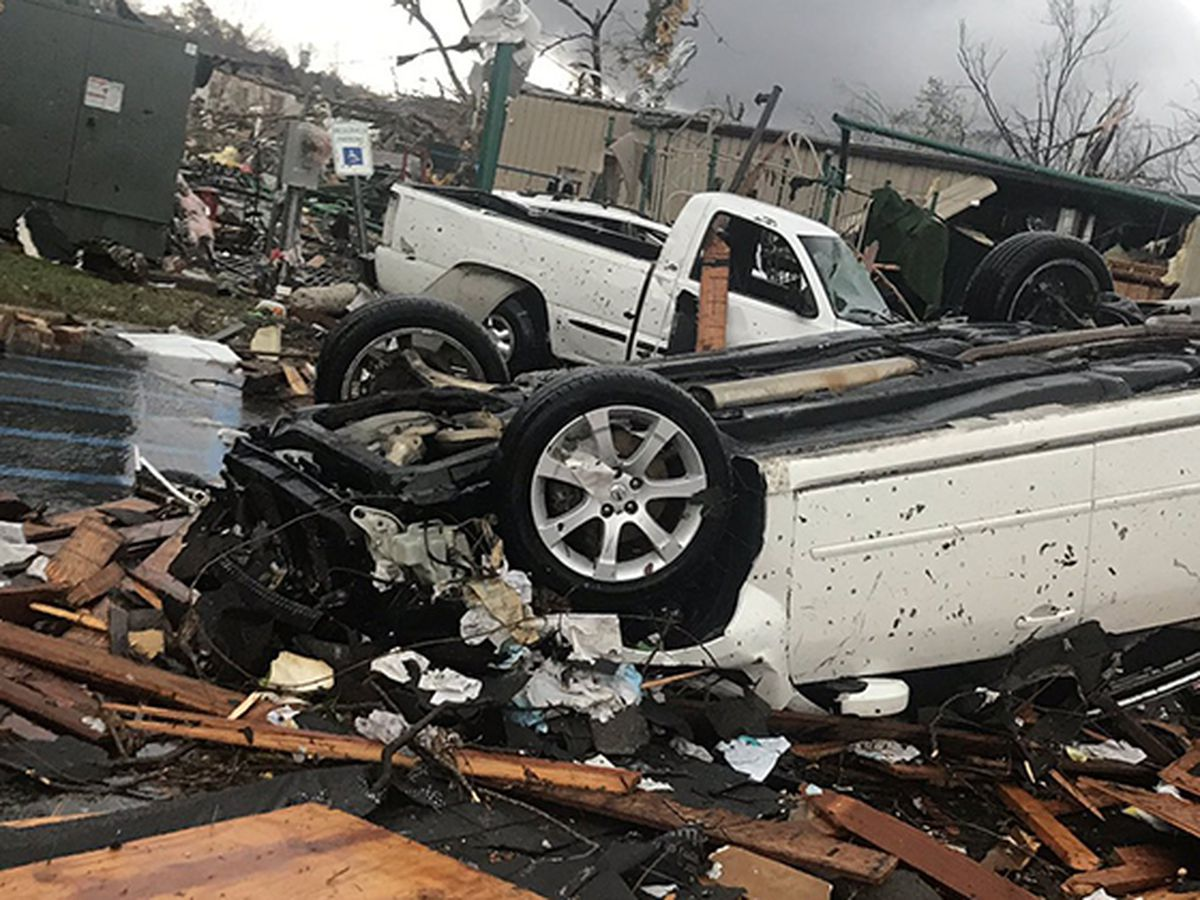 Wetumpka suffers significant tornado damage