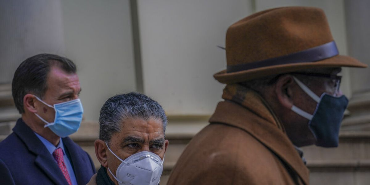 NY congressman tests positive for virus, latest since Capitol breach
