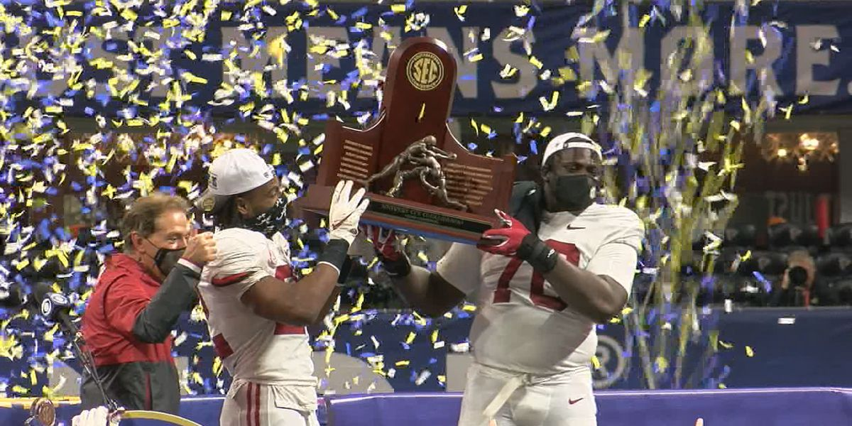 Alabama wins SEC Championship, Nick Saban's favorite one