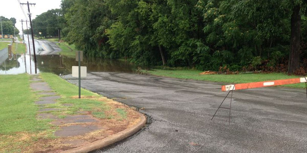 Several areas of flooding reported in Shoals area; Record rainfall recorded