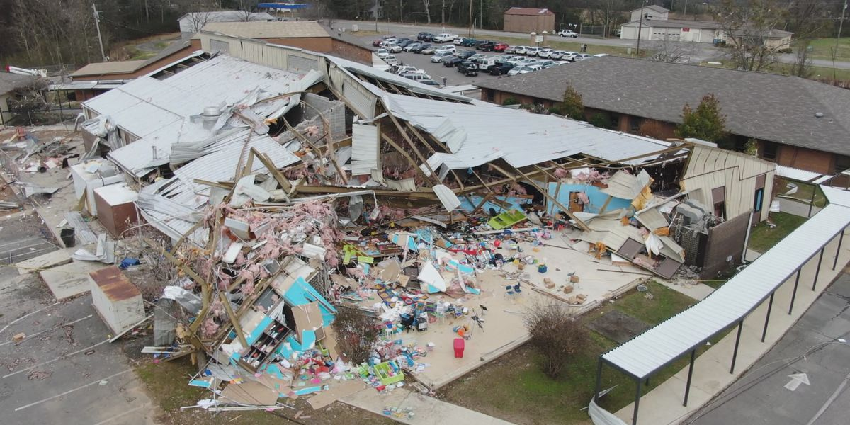 Plans for Marshall County school damaged by tornado
