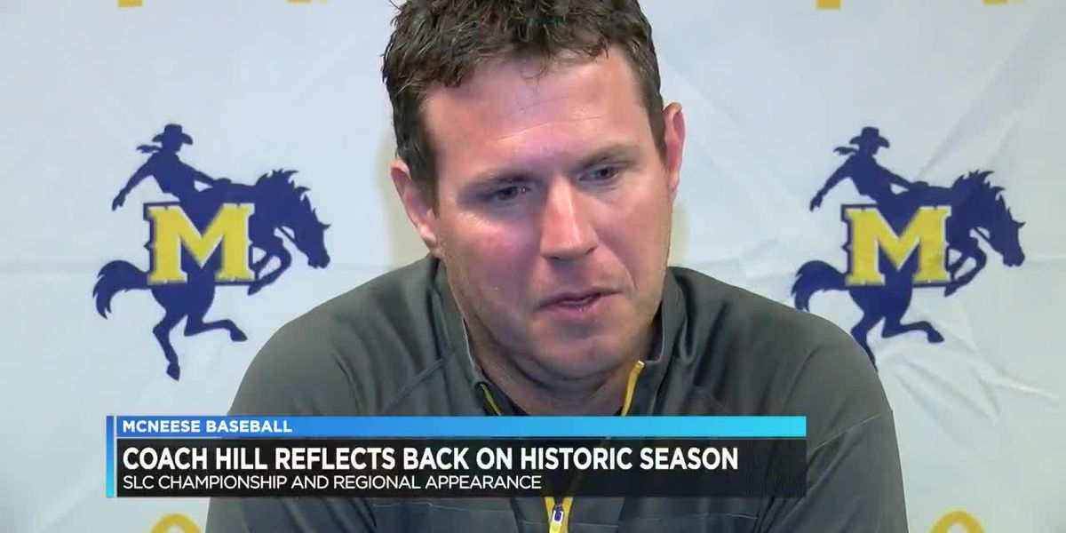 McNeese coach Justin Hill reflects on 2019
