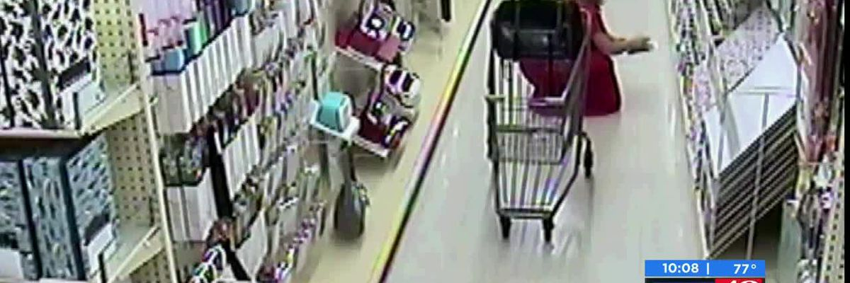 Crime Stoppers: Shoplifter fakes phone call to steal from store