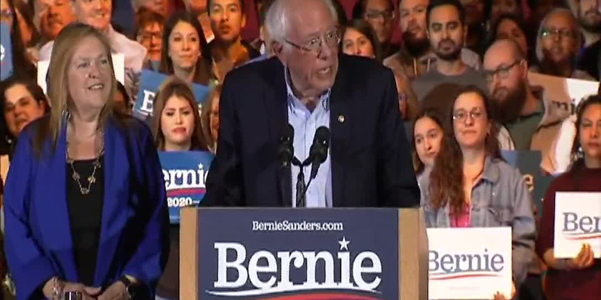 Sanders announces Nevada caucus win