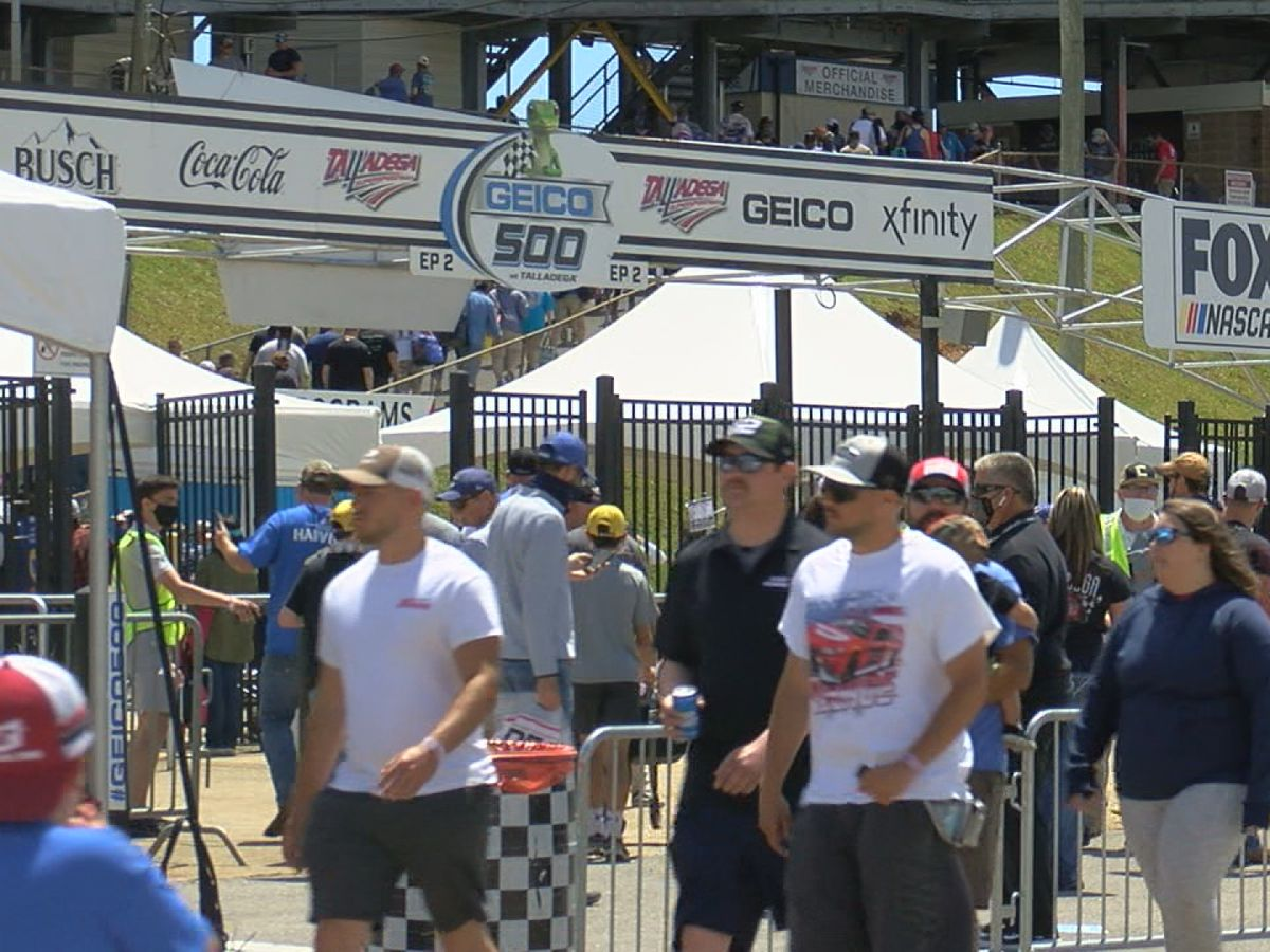 Talladega fully open for NASCAR's Playoff weekend