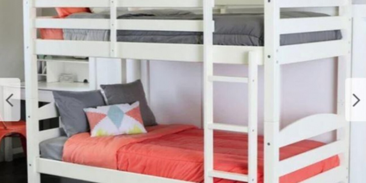 Walker Edison Furniture recalls children's bunk beds due to fall and injury hazards