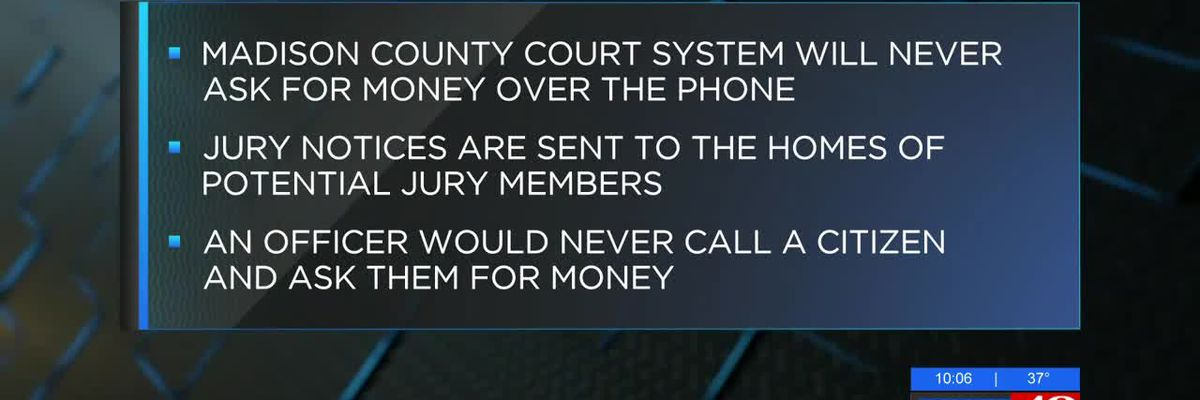 Arrest warrant scam shows up in Huntsville area