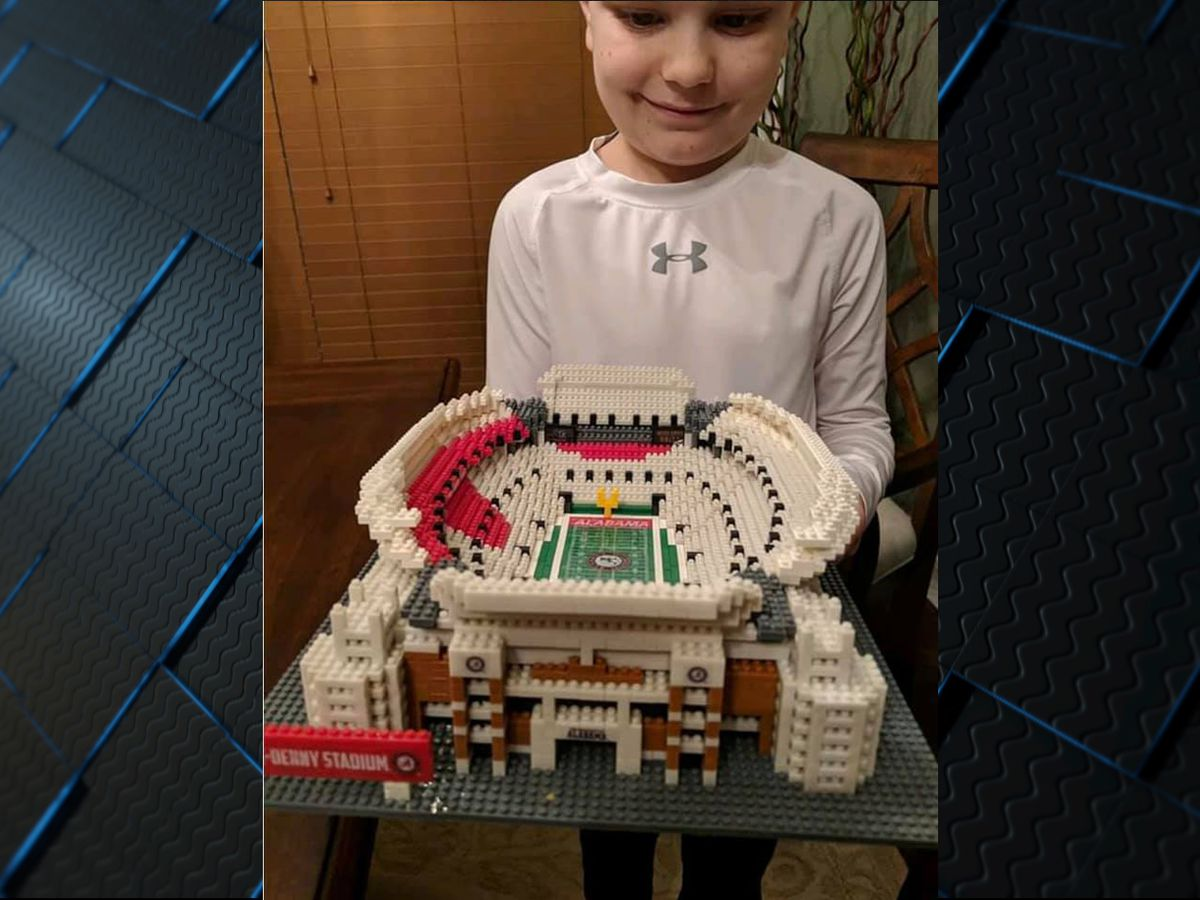 Muscle Shoals 3rd-grader hopes Bryant-Denny Stadium replica will get Saban's attention