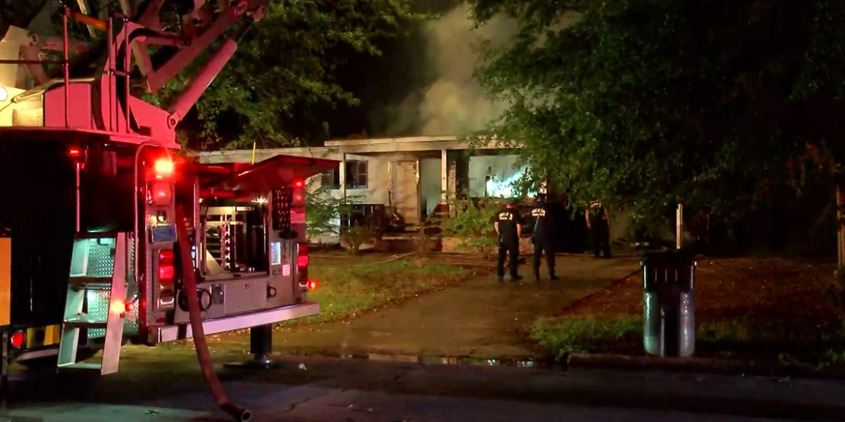Fire leaves Decatur house a total loss