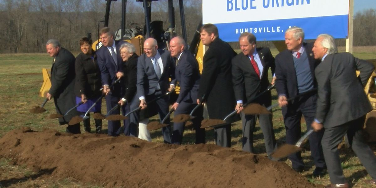 Blue Origin breaks ground on Huntsville plant