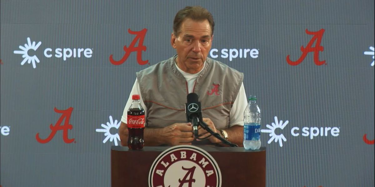 Saban says social distancing and masks aren't just 'for the heck of it'