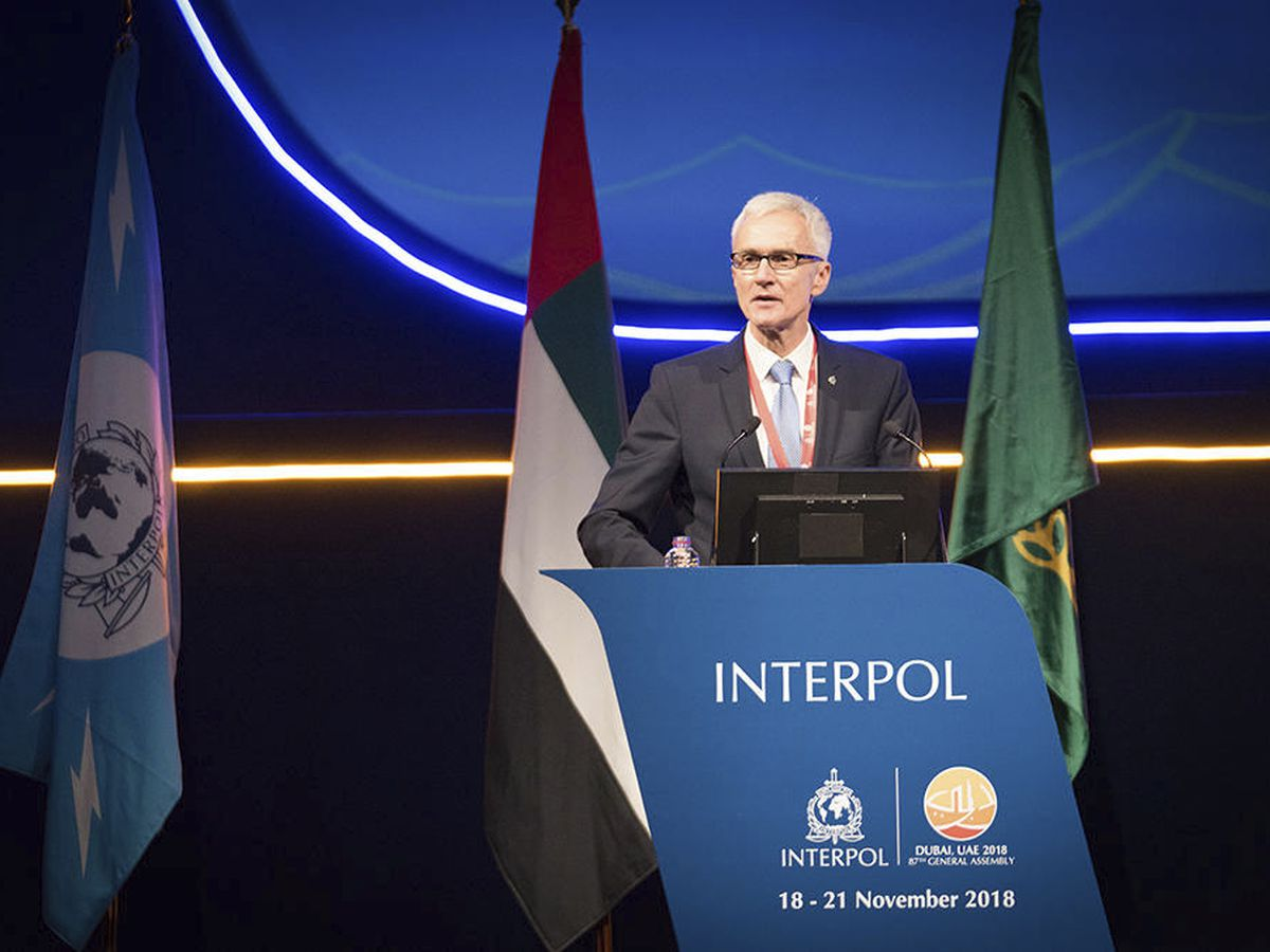 The Latest: Russia says critics politicizing Interpol