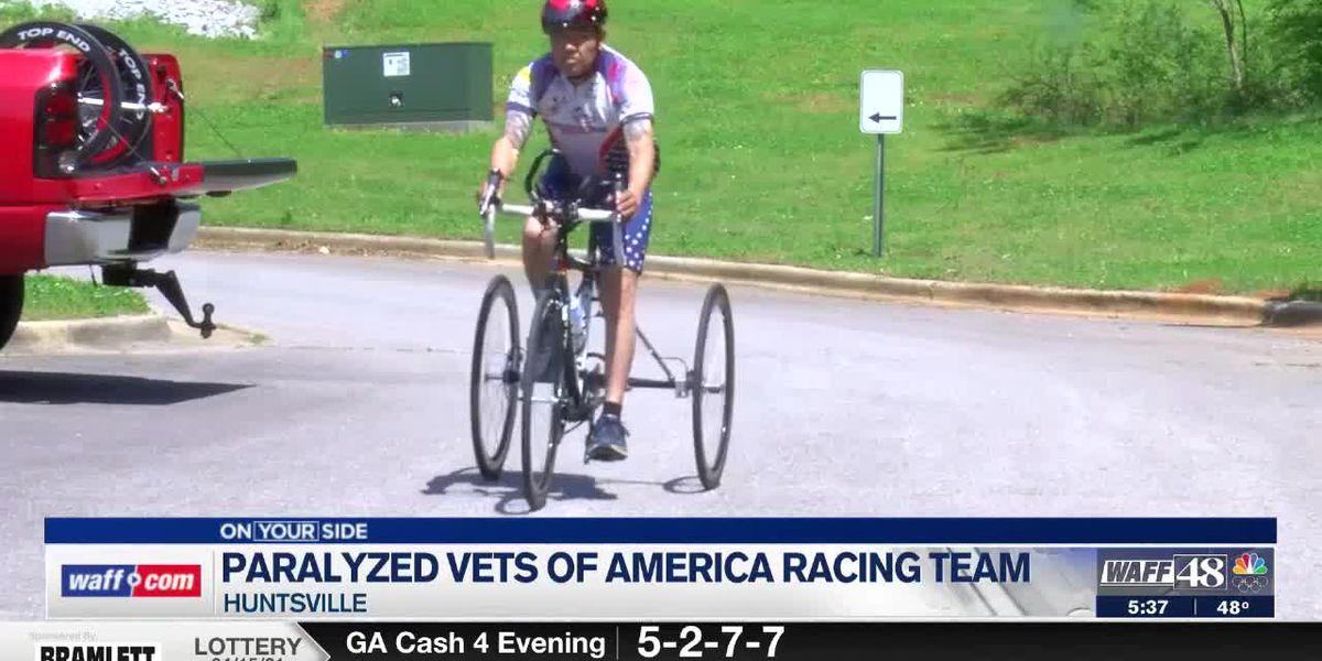Paralyzed Veterans of America racing team prepares for weekend racing