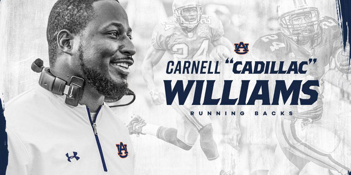Cadillac Williams returning to Auburn as running backs coach