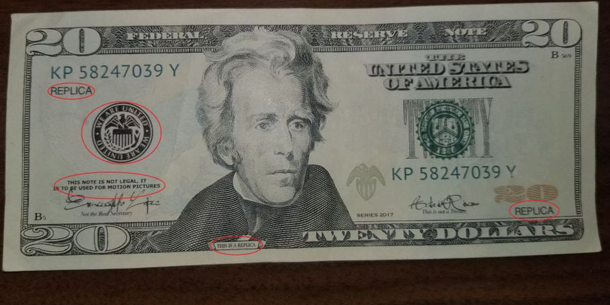 """Decatur police see rise in crimes involving """"novelty"""" currency"""