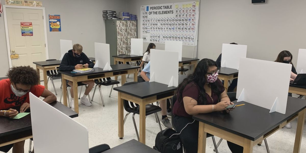 Boaz High School students return back into the classroom