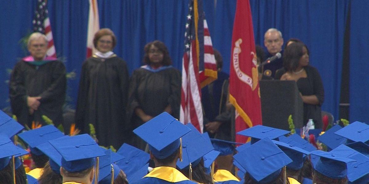 Final class graduates from J.O. Johnson High School