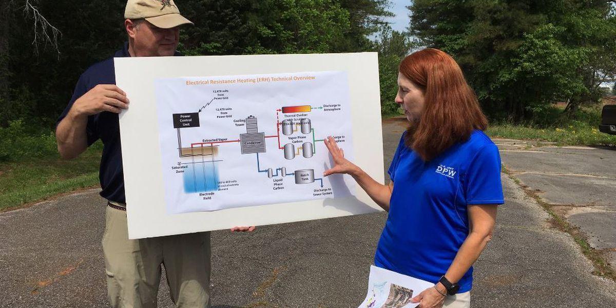 Redstone environmental cleanup process underway