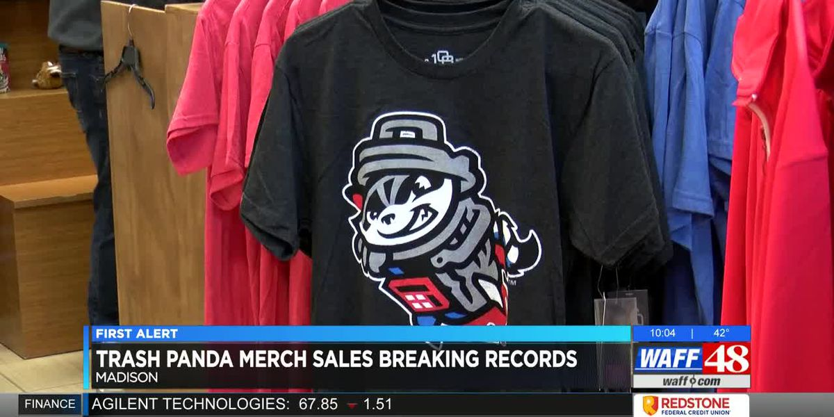 Trash Pandas merchandise sales breaking records