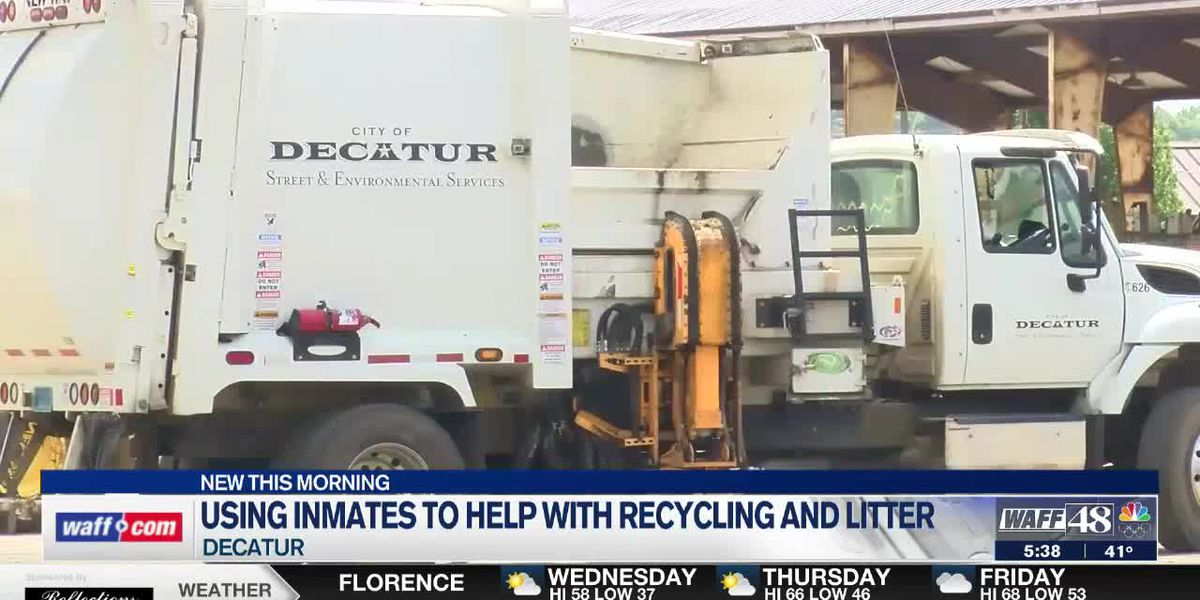 Decatur to resume using inmates for litter cleanup, recycling