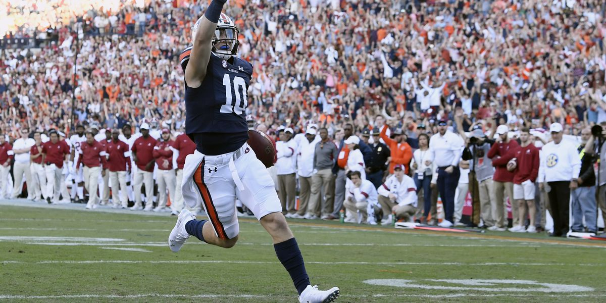 Auburn wins the 2019 Iron Bowl