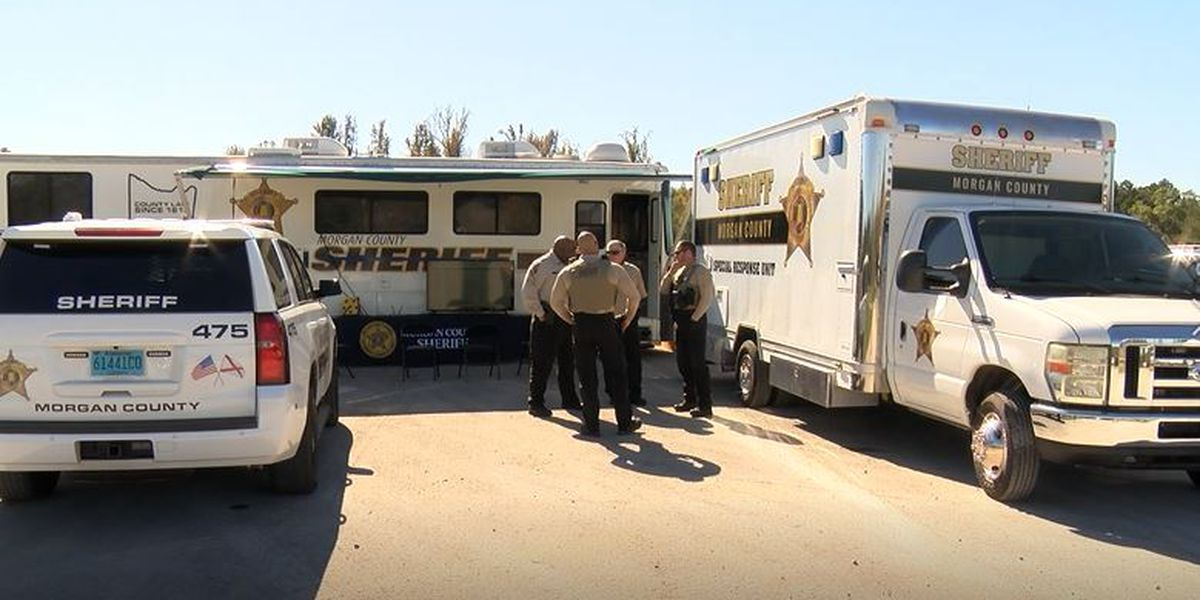 Mobile command center used to ensure safe and efficient voting experience in Morgan County