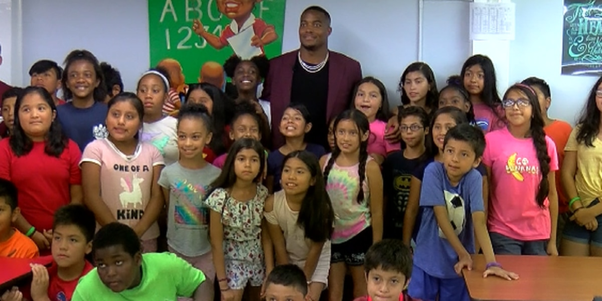 Huntsville native, Super Bowl champion Trey Flowers gives back