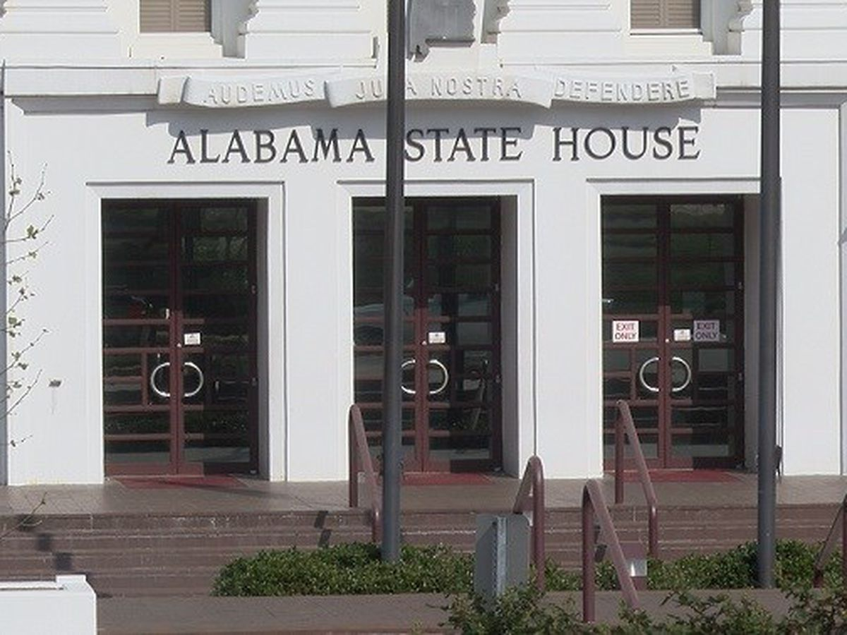 Alabama lawmakers to meet 3 days a week the first 2 weeks of 2021 Regular Session