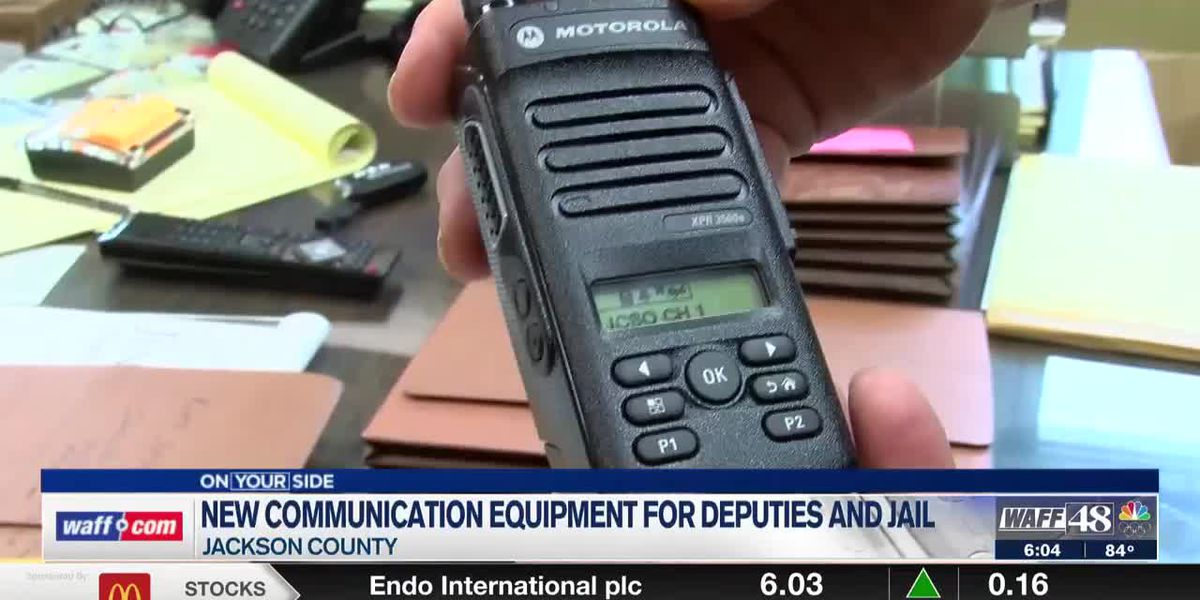 Jackson County Sheriff's Office, County Jail will receive radio upgrades