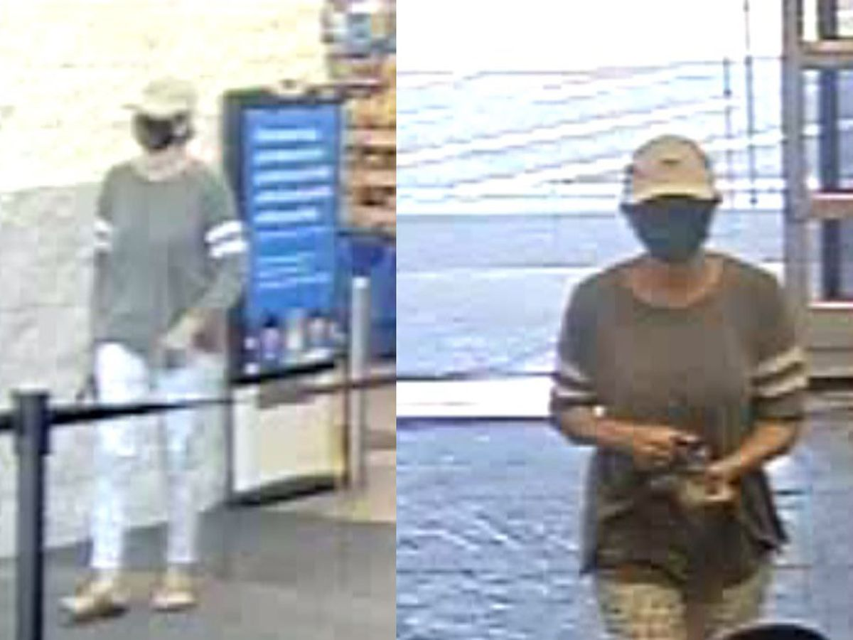 Police searching for woman in Decatur Walmart arson investigation