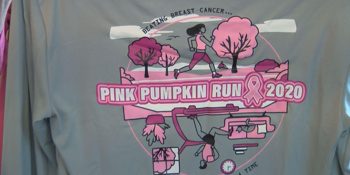 Raising money for Mammography Assistance Program; Pink Pumpkin Run goes virtual