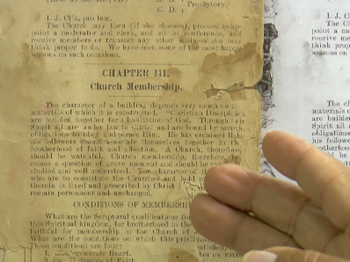 Tennessee Valley pastor keeping history alive