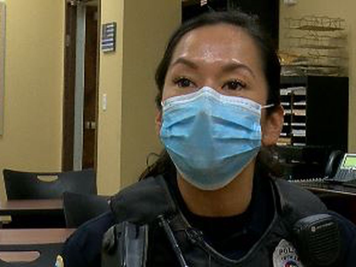 Huntsville Police Officer shares her story of starting her career during the pandemic