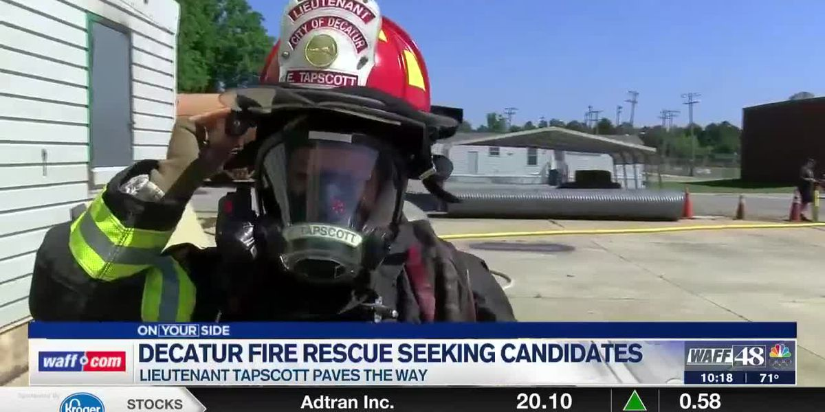 Decatur Fire & Rescue seeks greater applicant turnout, especially when it comes to women