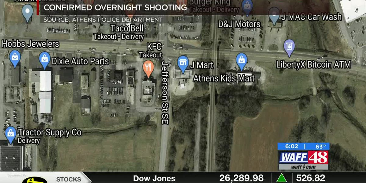 Athens Police investigating Tuesday night shooting at Highway 72 J-Mart
