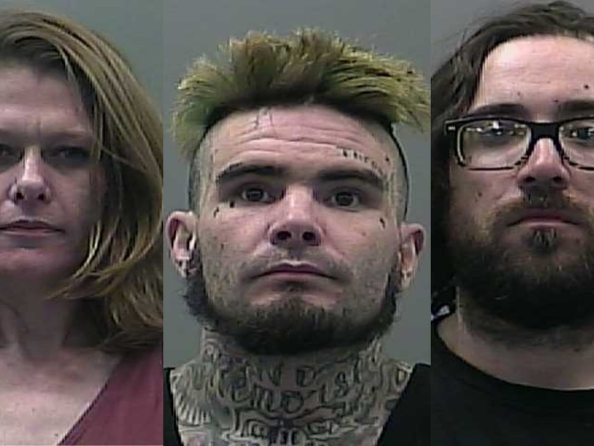 Three arrested after leading Limestone County deputies on separate chases