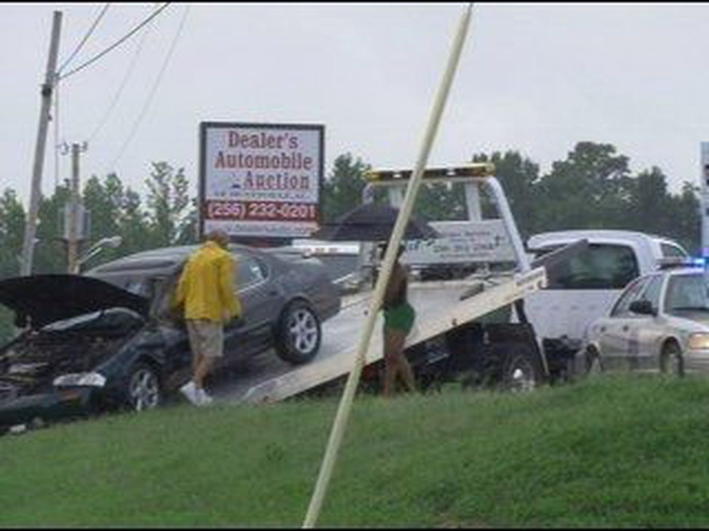Highway 72 wreck sends two to hospital
