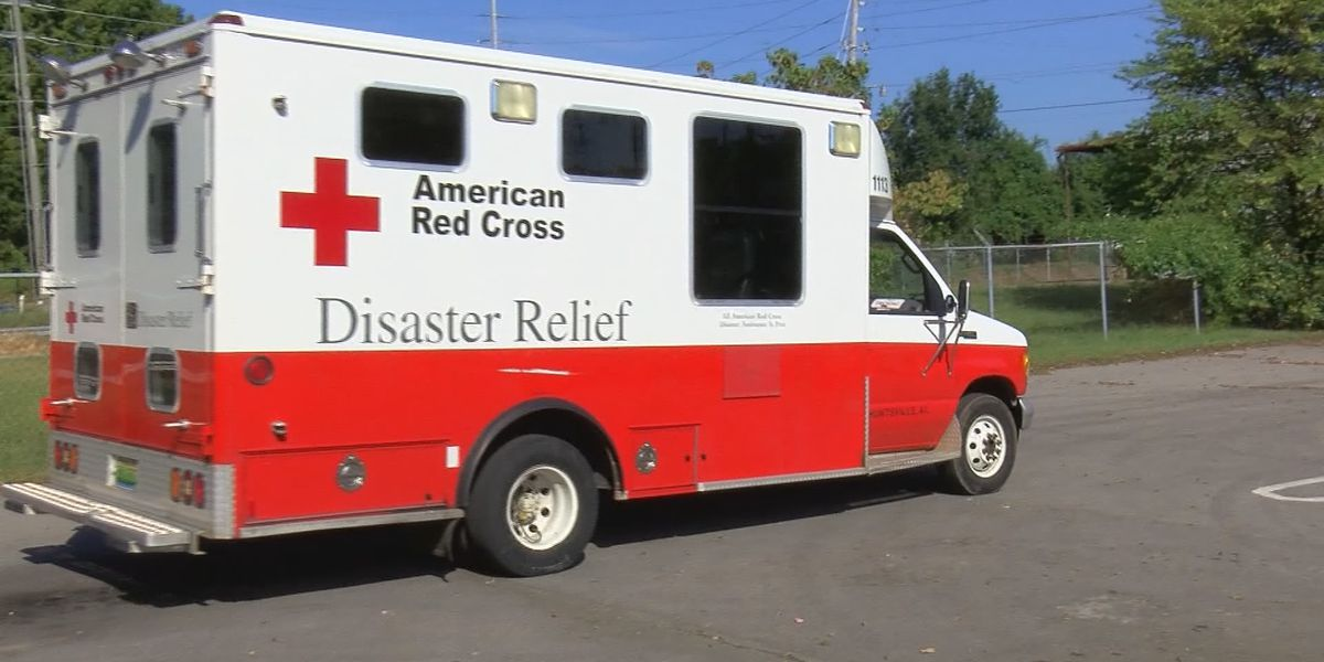 North Alabama Red Cross volunteers helping with Tropical Storm Isaias