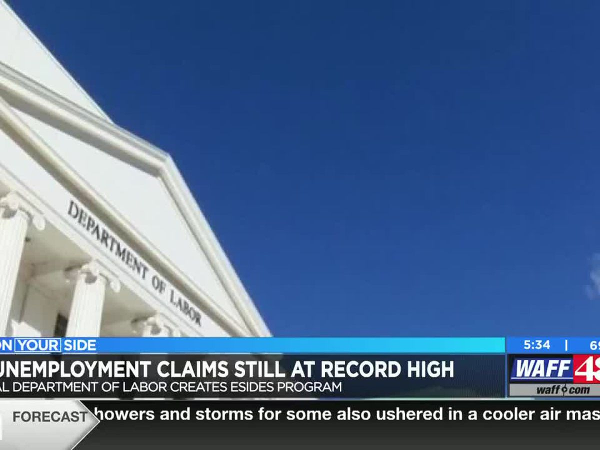 Unemployment claims still at record high