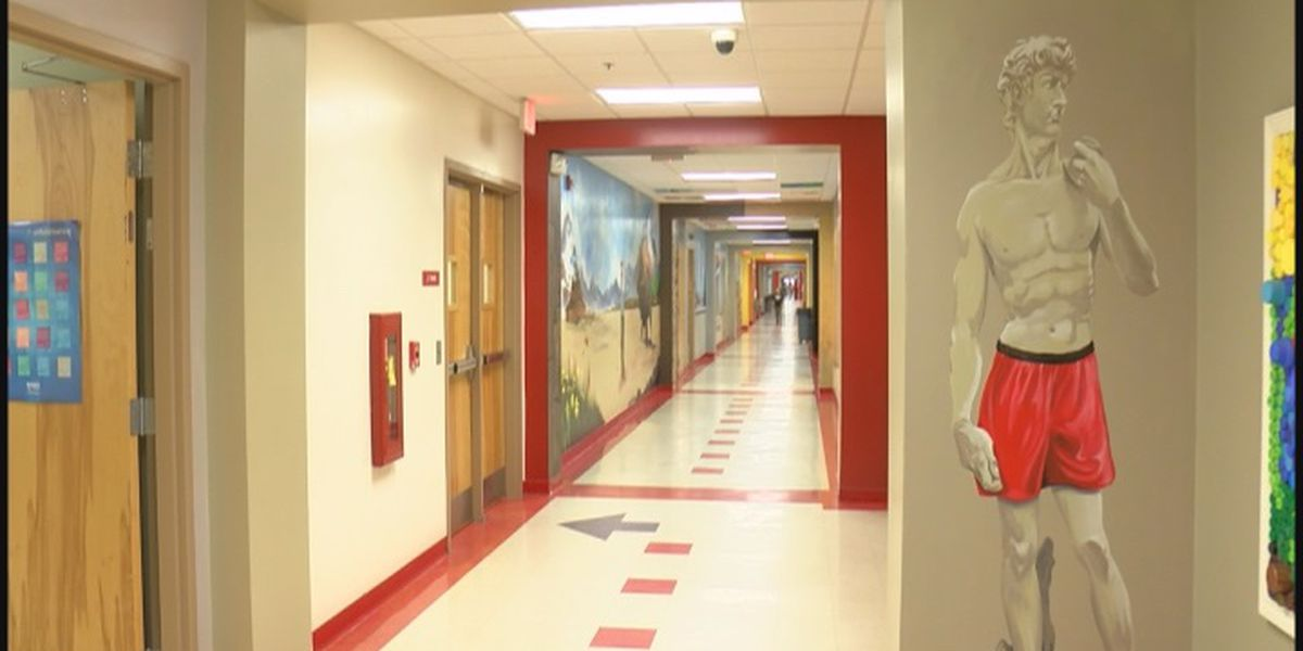 Marshall County artist finds love of painting school walls