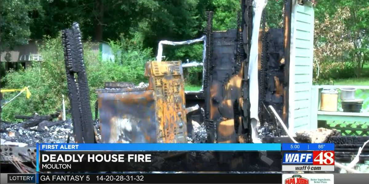 Woman killed in Moulton house fire identified