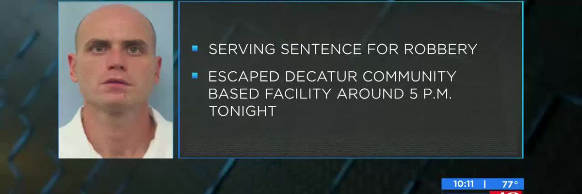 State inmate escapes Decatur facility
