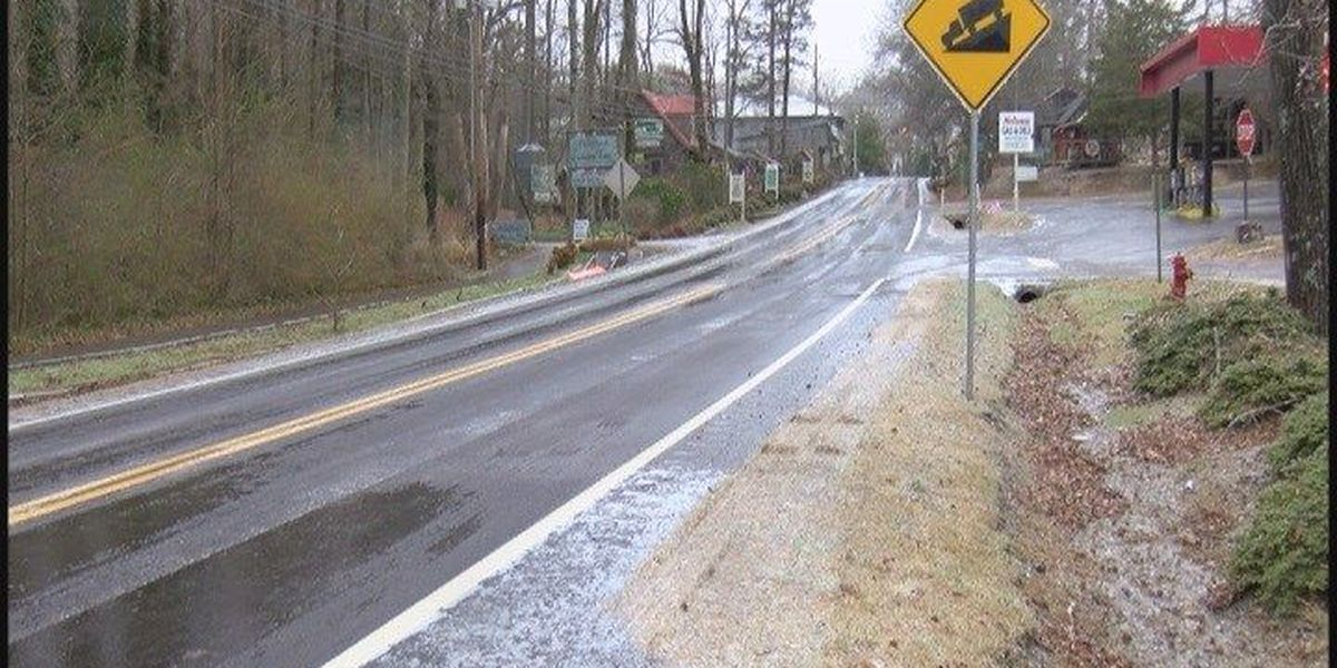 DeKalb County wakes up to icy roads