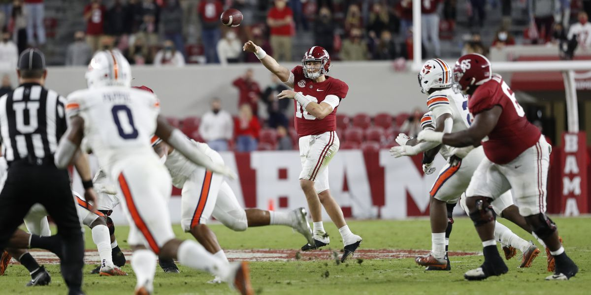 Top ranked Alabama wins 85th Iron Bowl 42-13