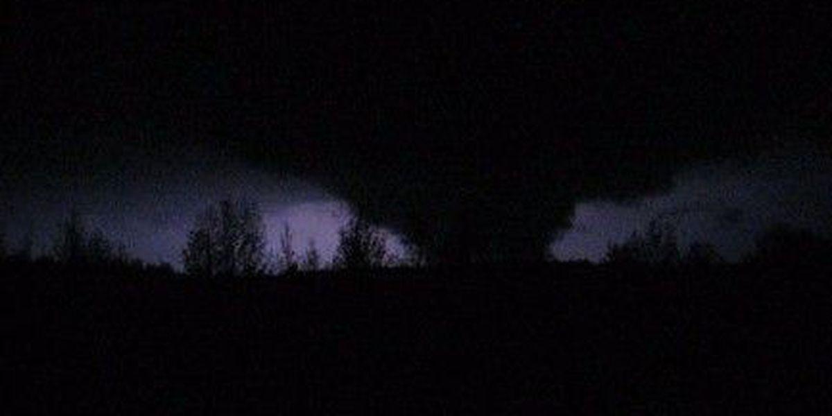 Picture of Northwest Alabama tornado