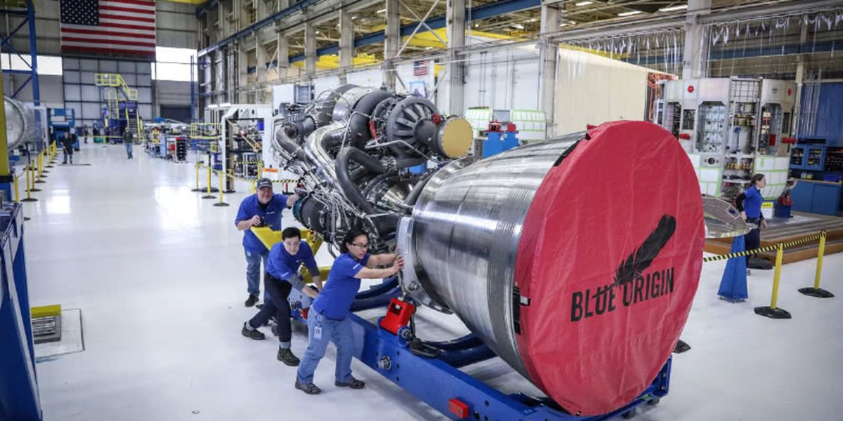 Blue Origin wins ULA engine contract, will build facility in Huntsville