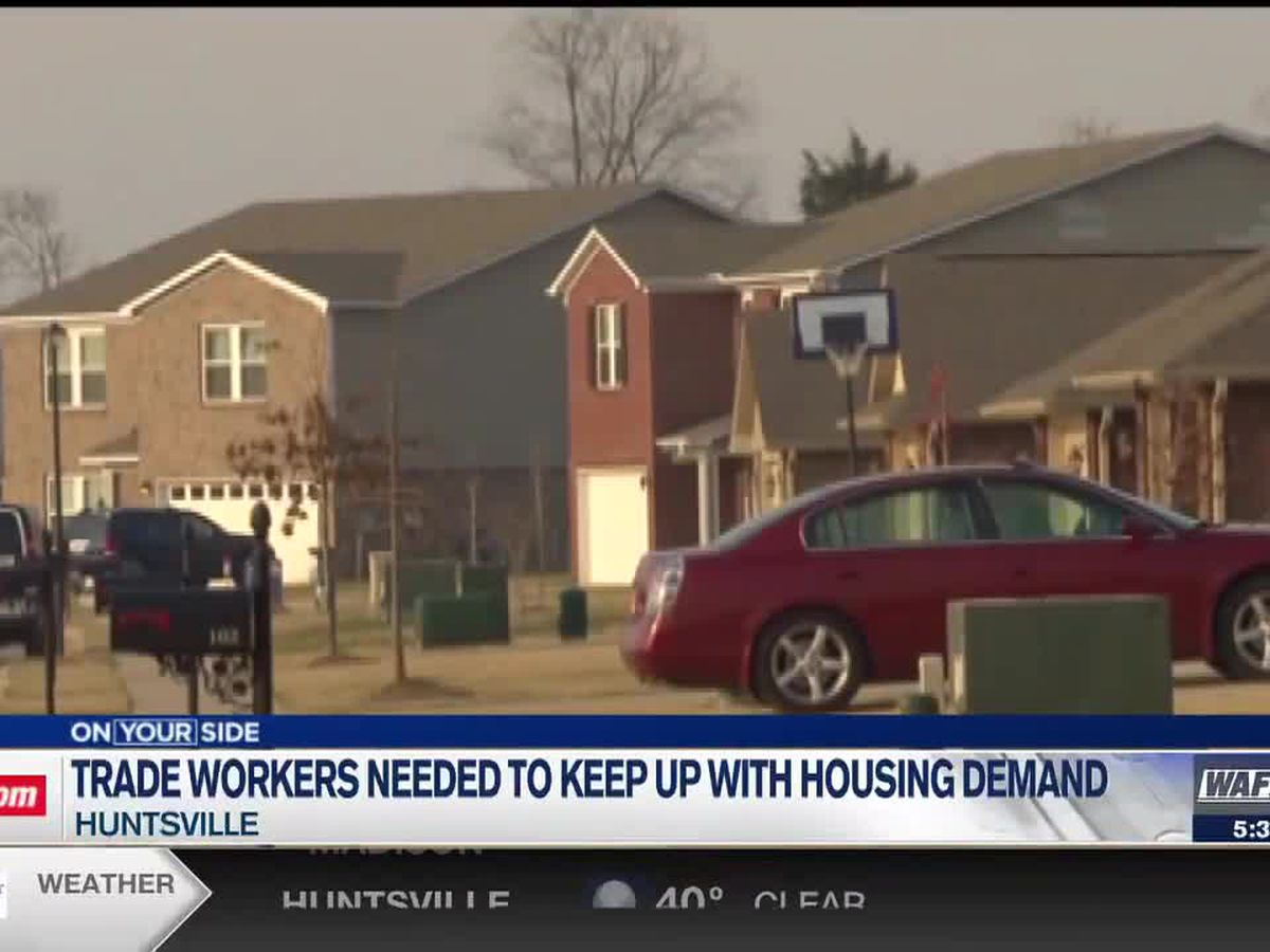 More trade workers needed to keep up with housing demand