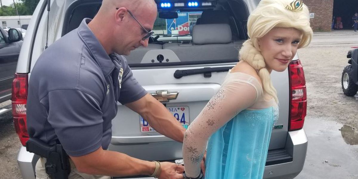 """Elsa"" gets into trouble with Morgan County deputies during Touch-A-Truck event"